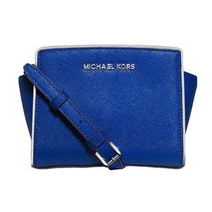 MICHAEL KORS Selma Specchio Mini Messenger Bag